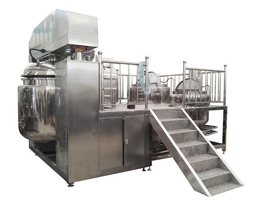 COMB-1000L高剪切真空均质乳化机组