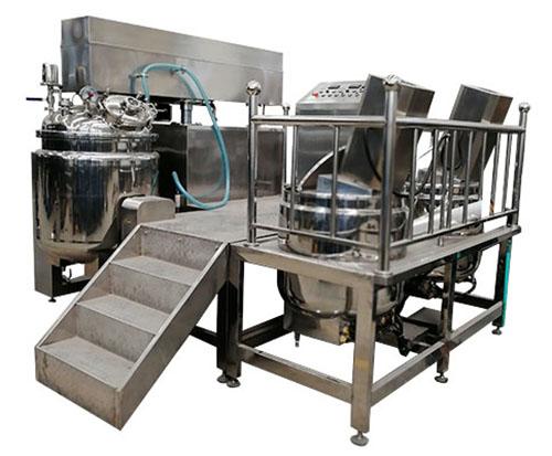 乳化机如何实现溶解过程?